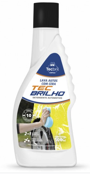 Lava Auto C/Cera Tecbril 500ml