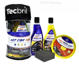 Kit de Limpeza TECBRIL Car TOP